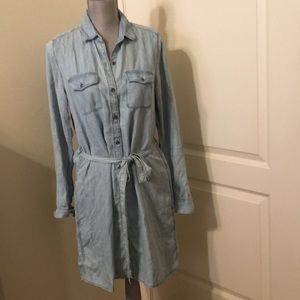 GAP 1969 Denim Shirt Dress